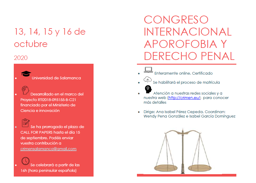 Cartel Congreso Octubre 2020